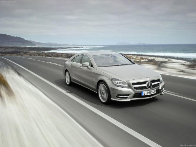 Mercedes-Benz CLS 350 cars 2012 wallpaper