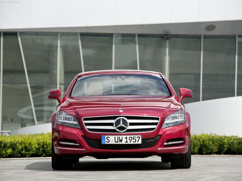 Mercedes-Benz CLS 350 CDI cars 2012 wallpaper