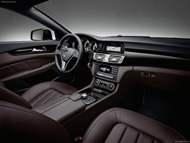 Mercedes-Benz CLS 350 CDI cars 2012 wallpaper