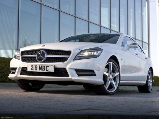Mercedes-Benz CLS 350 CDI UK-Version cars 2012 wallpaper