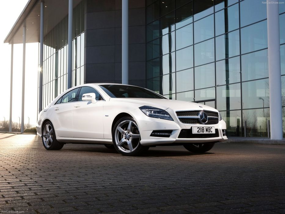 Mercedes-Benz CLS 350 CDI UK-Version cars 2012 wallpaper