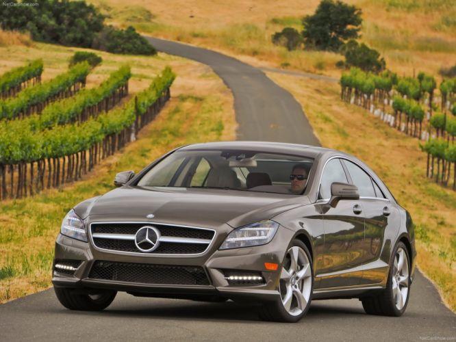 Mercedes-Benz CLS-550 cars 2012 wallpaper