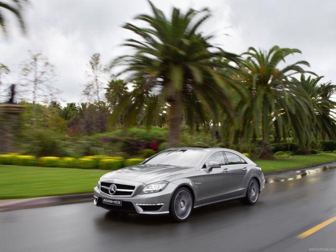 Mercedes-Benz CLS-63 AMG cars 2012 wallpaper