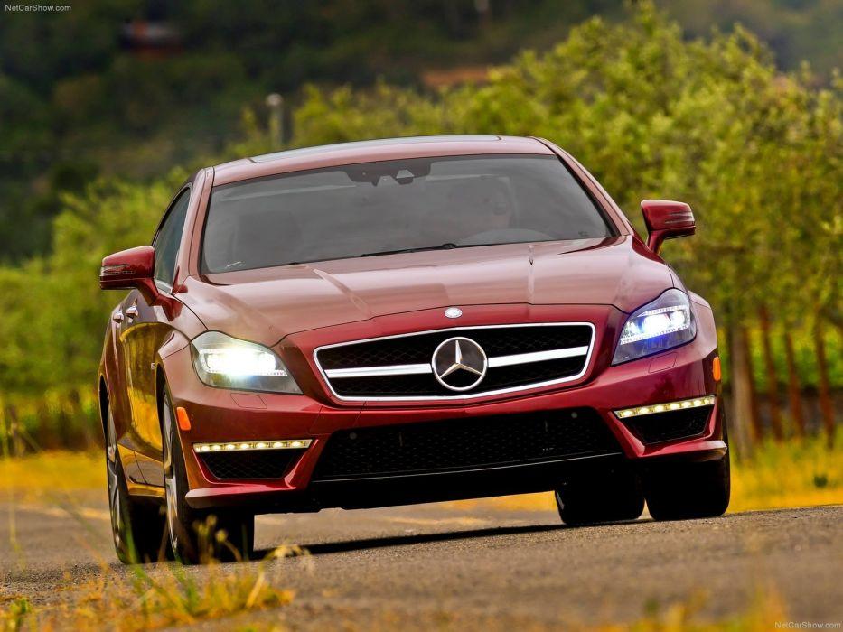 Mercedes-Benz CLS-63 AMG US-Version cars 2012 wallpaper