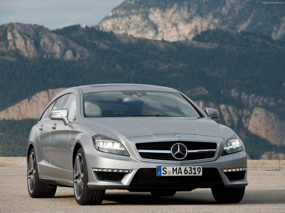 Mercedes-Benz CLS-63 AMG Shooting Brake cars 2013 wallpaper