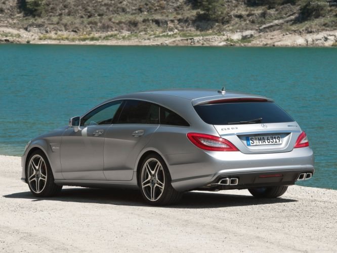 Mercedes-Benz CLS-63 AMG Shooting Brake cars 2013 wallpaper