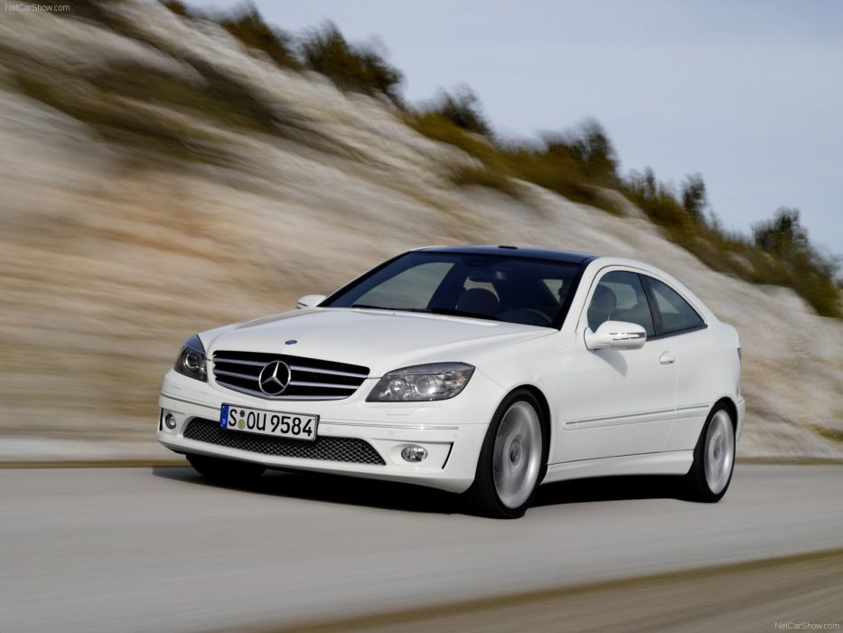 Mercedes-Benz CLC 220 cdi cars 2009 wallpaper