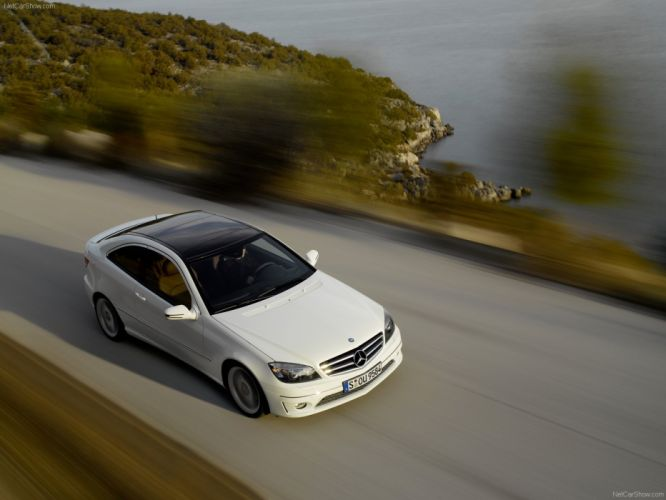 Mercedes-Benz CLC 220 cdi cars 2009 wallpaper