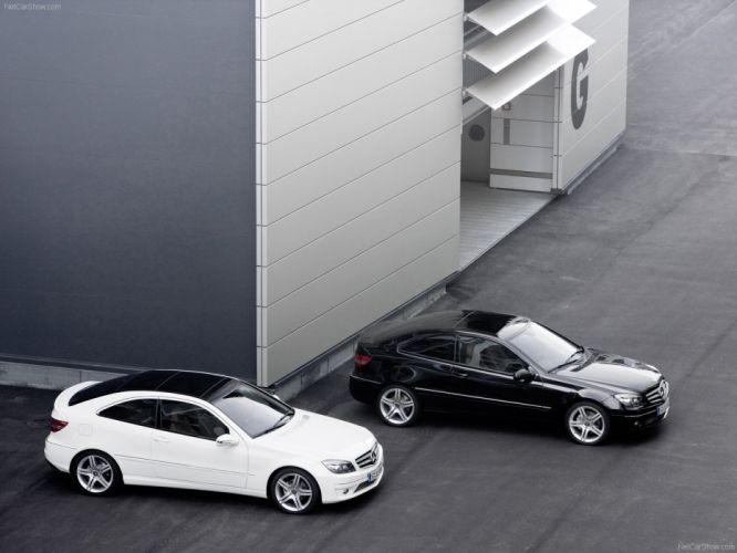 Mercedes-Benz CLC 200 Kompressor cars 2009 wallpaper
