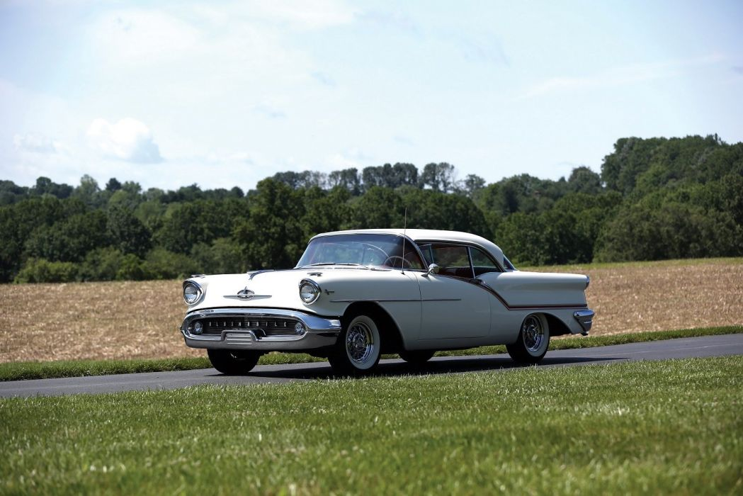 Oldsmobile Super-88 Holiday Coupe 1957 cars classic wallpaper