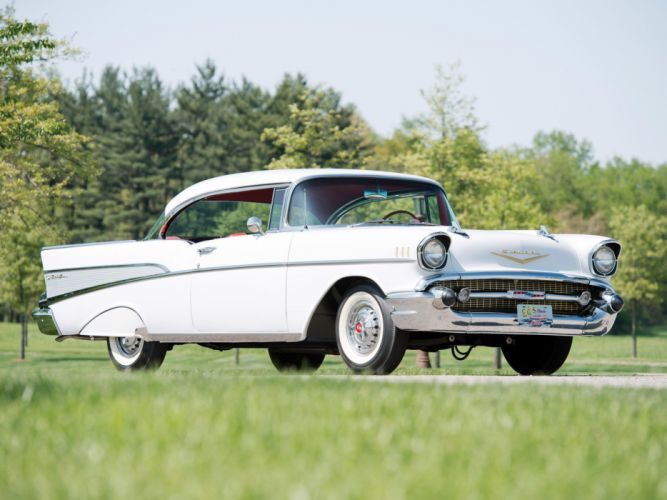 1957 Chevrolet Bel Air Sport Coupe cars classic wallpaper