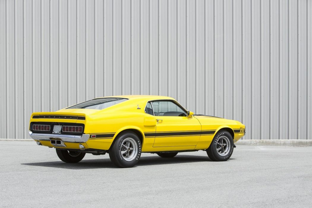 1969 Shelby GT-350 mustang ford cars classic wallpaper