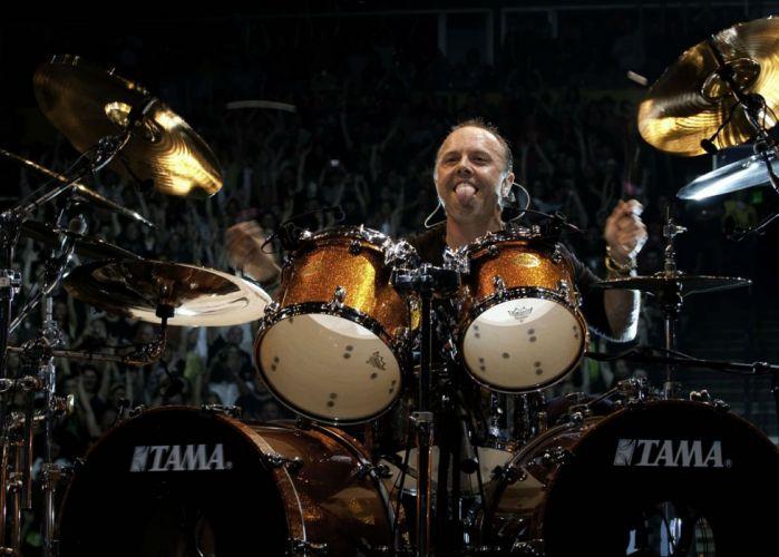 METALLICA thrash metal heavy rock concert drums wallpaper