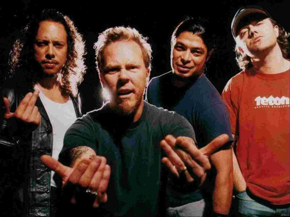 METALLICA thrash metal heavy rock wallpaper