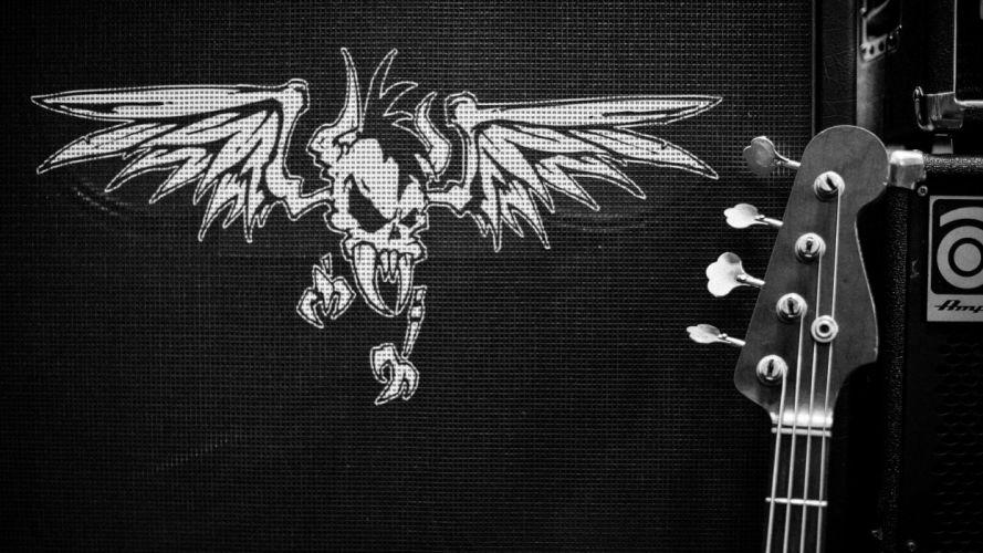 METALLICA thrash metal heavy rock poster guitar wallpaper