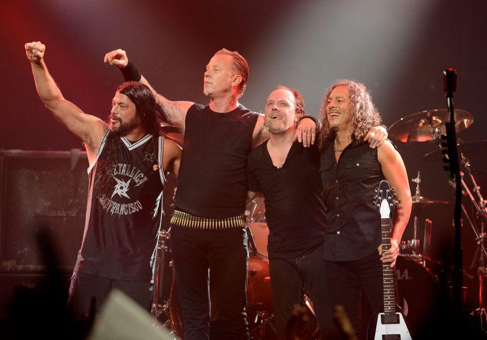 METALLICA thrash metal heavy rock concert guitar wallpaper