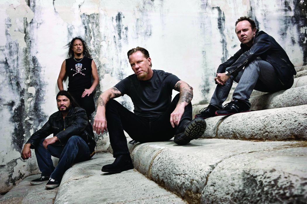 METALLICA thrash metal heavy rock wallpaper