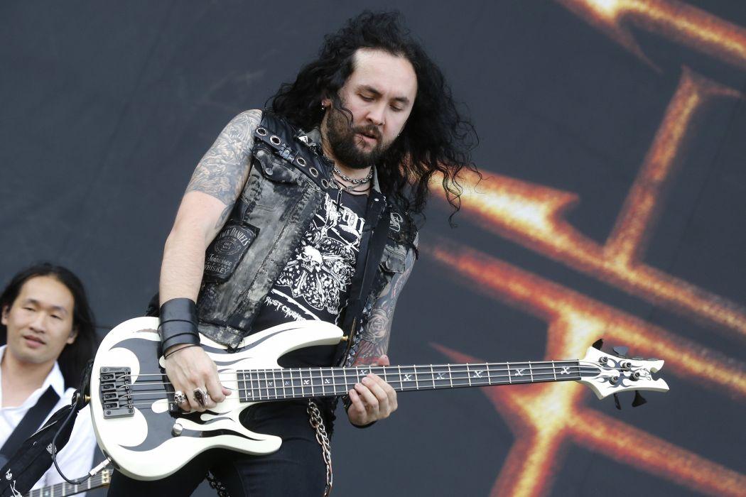DRAGONFORCE speed power metal heavy progressive guitar concert bass wallpaper