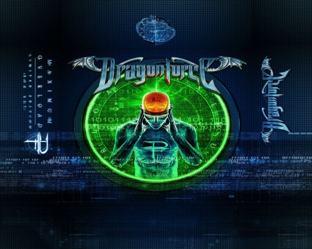 DRAGONFORCE speed power metal heavy progressive artwork poster wallpaper