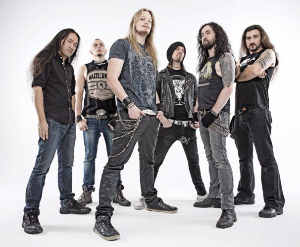 DRAGONFORCE speed power metal heavy progressive wallpaper