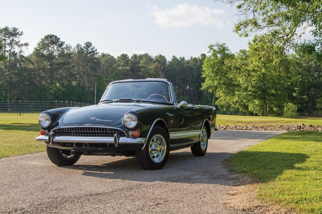 Sunbeam Tiger II cars convertible 1967 wallpaper