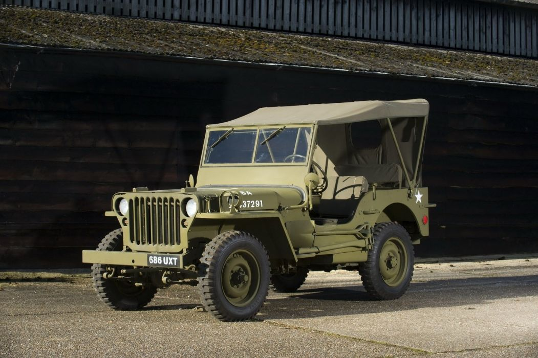 jeep Willys-MB cars army usa classic 1942 wallpaper