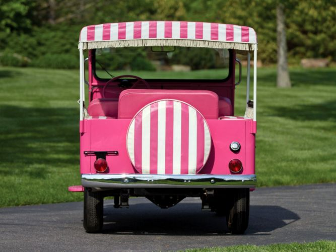 Willys Jeep Surrey classic 1959 cars wallpaper