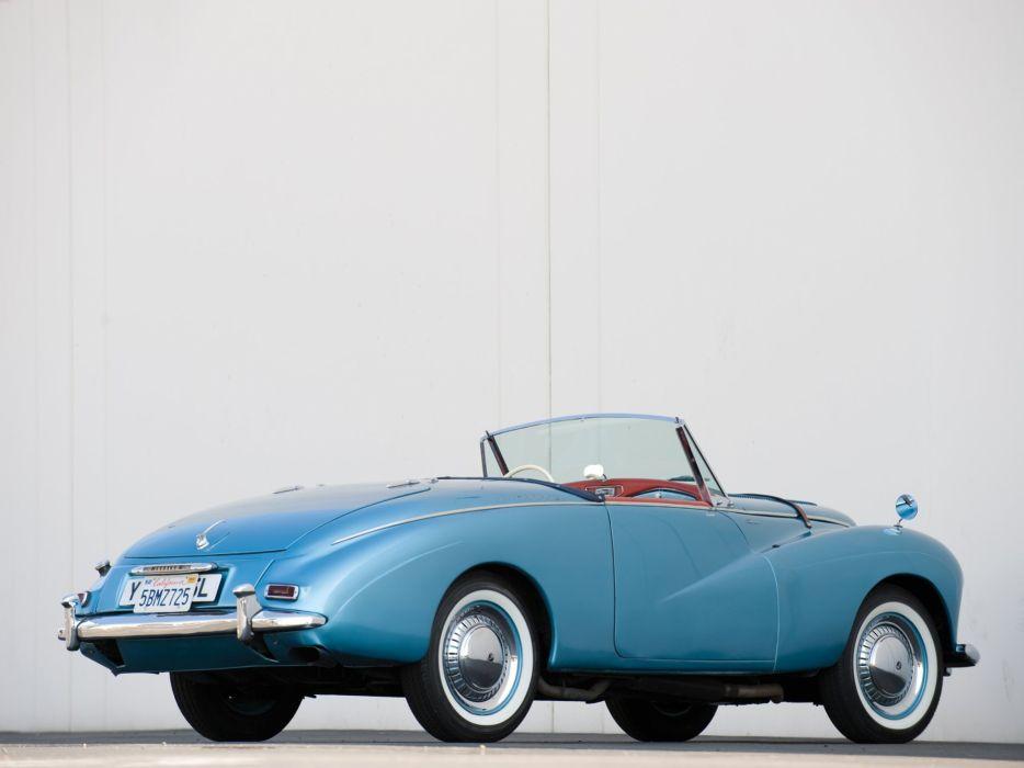 Sunbeam Alpine Sport Roadster Mk1 cars 1953 wallpaper
