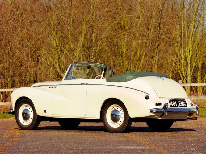 Sunbeam MkIII Convertible Coupe cars classic 1954 wallpaper