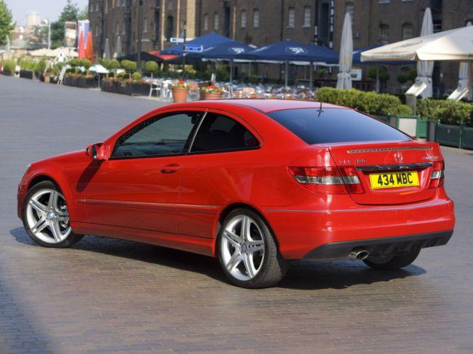 Mercedes-Benz CLC 180 Kompressor UK-spec cars 2008 wallpaper