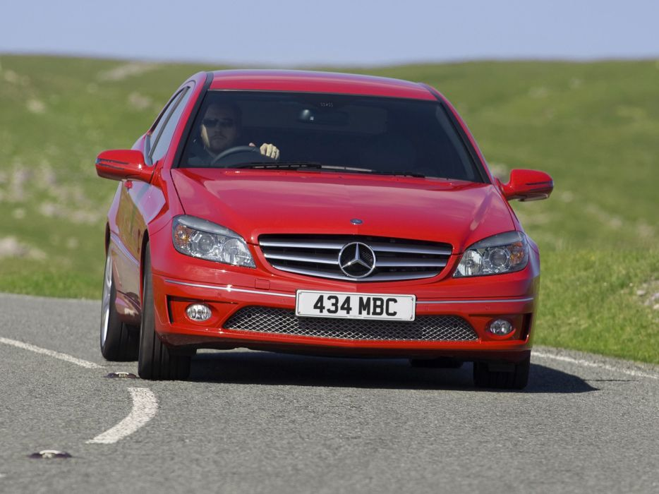 Mercedes-Benz CLC 180 Kompressor UK-spec cars 2008 wallpaper