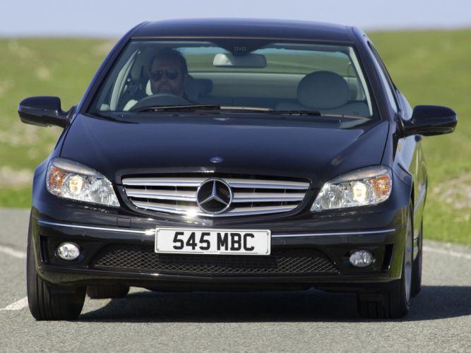 Mercedes-Benz CLC 220 CDI UK-spec cars 2008 wallpaper