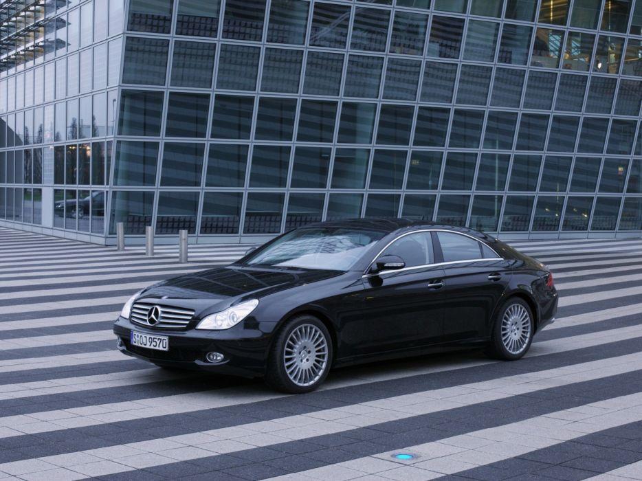 Mercedes-Benz CLS 350 CGI cars 2006 wallpaper