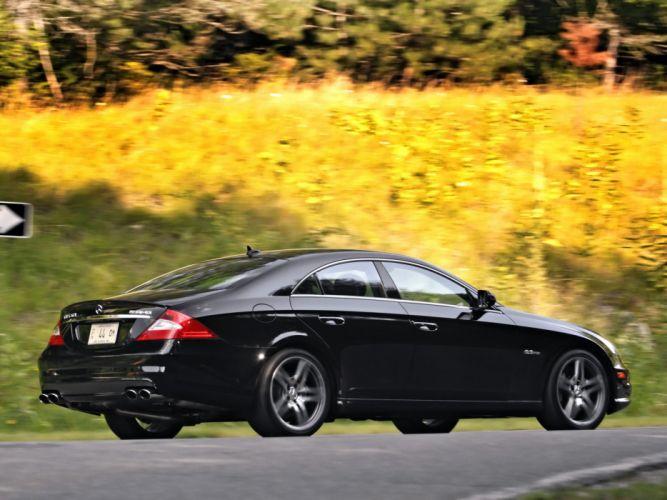 Mercedes-Benz CLS-63 AMG US-spec cars 2008 wallpaper