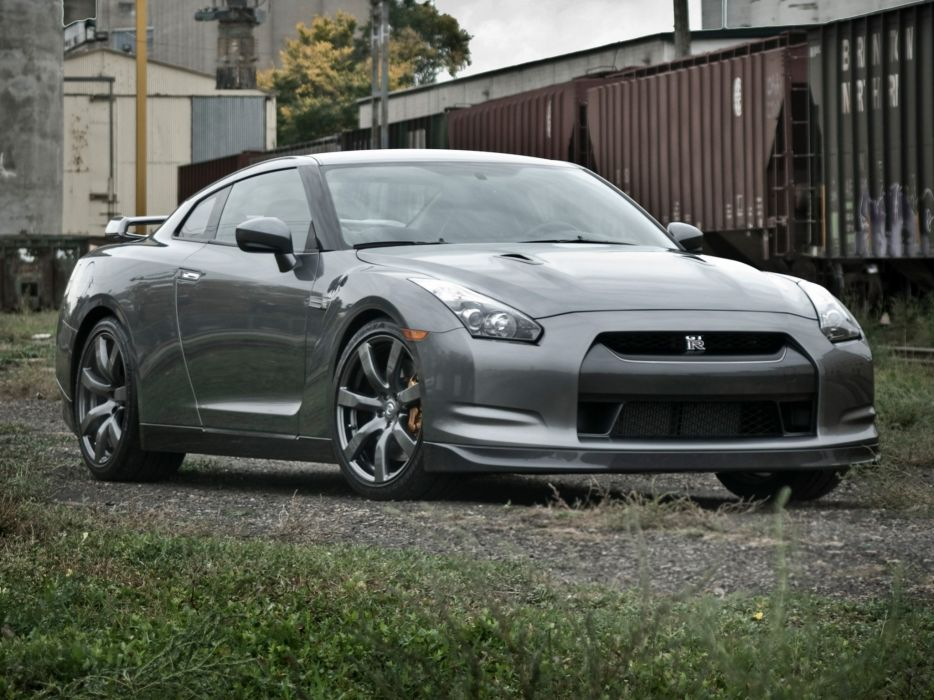 Nissan Gt R Black Edition R35 Us Spec Cars Coupe 2008 Wallpaper