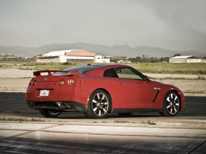 Nissan GT-R Black Edition R35 US-spec cars coupe 2008 wallpaper