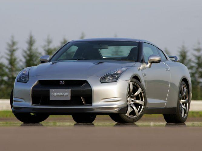 Nissan GT-R Black Edition R35 JP-spec cars coupe 2008 wallpaper