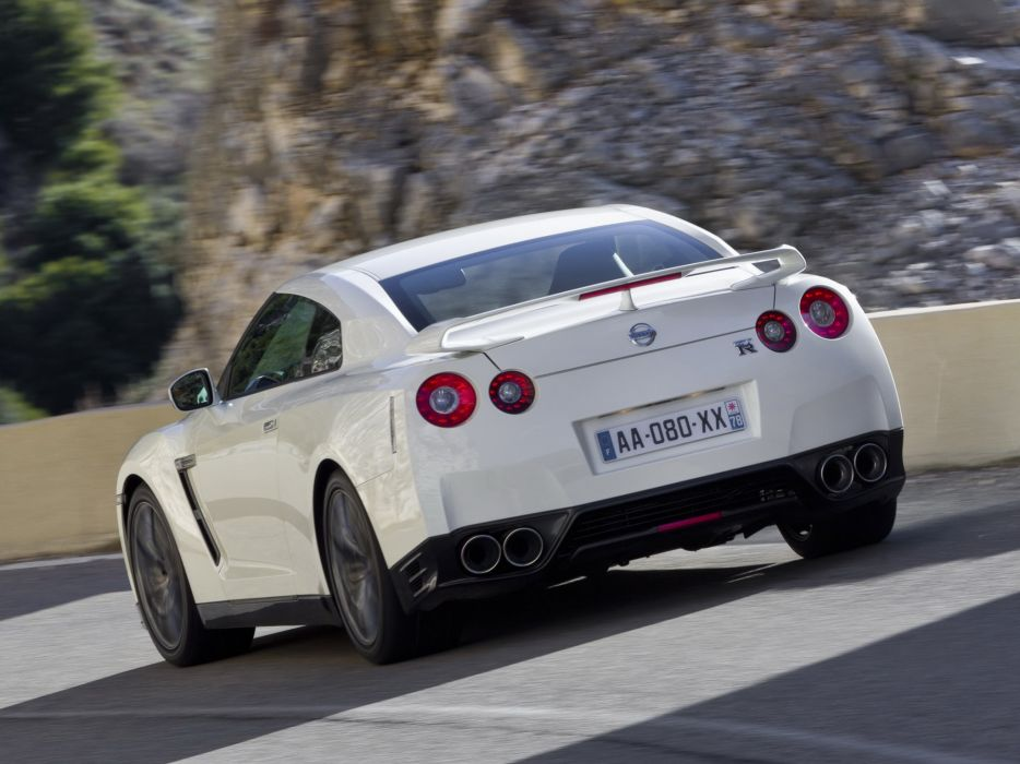 Nissan GT-R Black Edition R35 cars coupe 2010 wallpaper