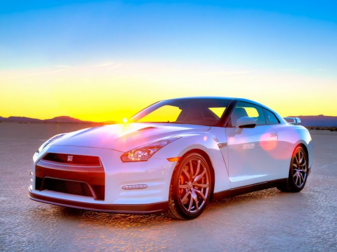 Nissan GT-R Black Edition R35 cars US-spec coupe 2010 wallpaper