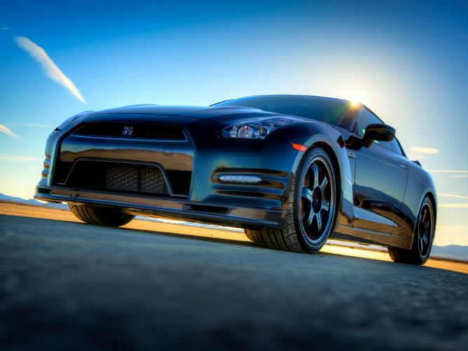 Nissan GT-R Track edition R35 cars coupe 2013 wallpaper