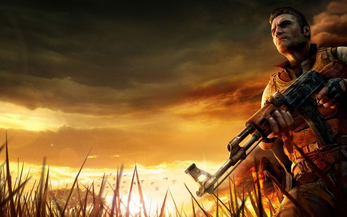 FAR CRY action fighting shooter farcry 1farcry sandbox adventure sci-fi fantasy warrior artwork wallpaper