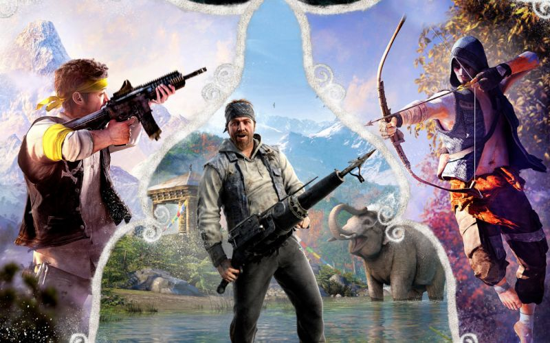 FAR CRY action fighting shooter farcry 1farcry sandbox adventure sci-fi fantasy warrior artwork wallpaper