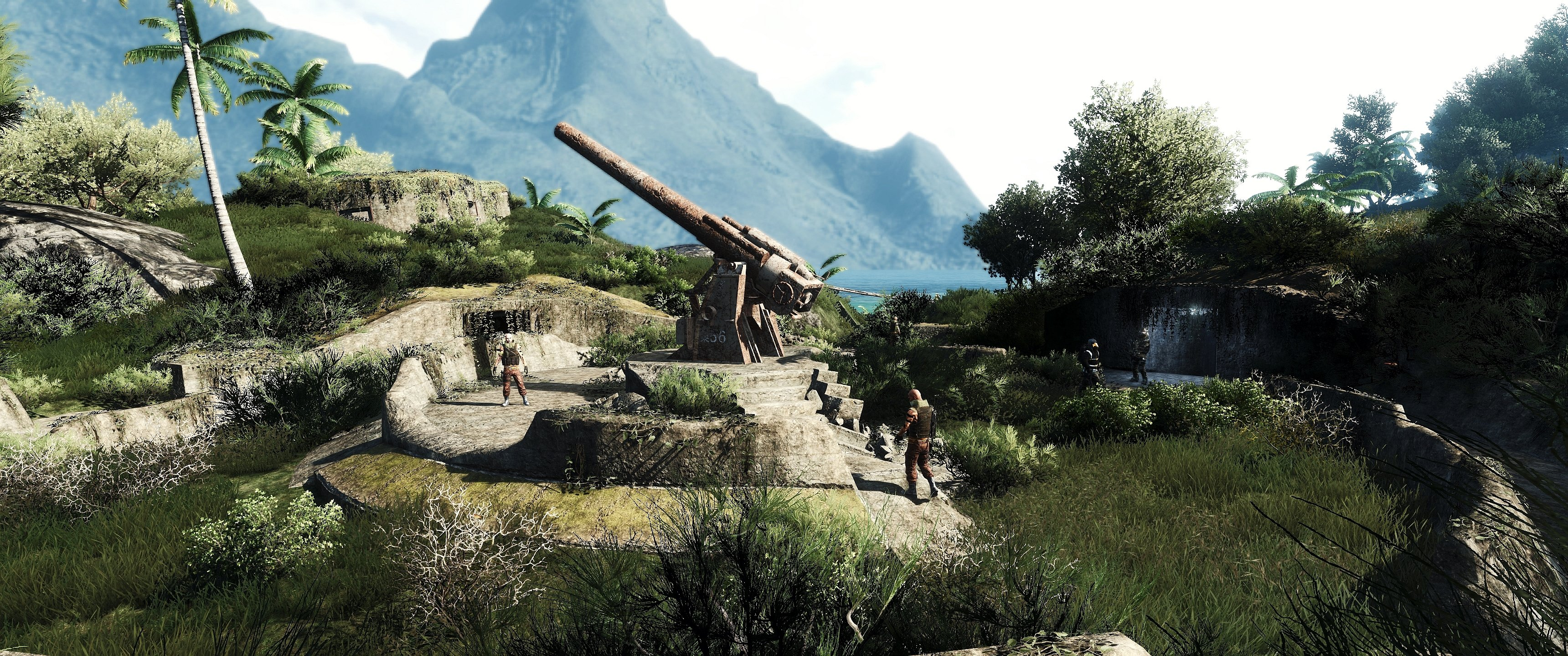 Far cry action fighting shooter farcry 1farcry sandbox - Fantasy wallpaper 3440x1440 ...
