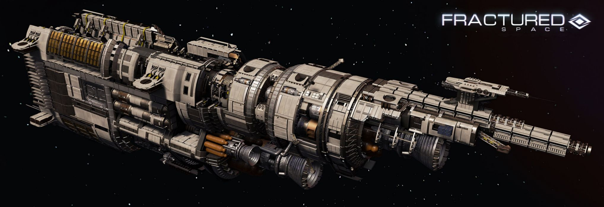 FRACTURED SPACE space combat action fighting futuristic 1fspace spaceship sci-fi shooter mmo tactical strategy mmo online wallpaper