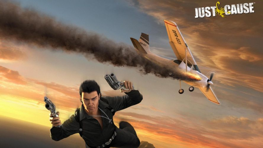 JUST CAUSE action adventure sci-fi crime fighting cia spy 1jcause tactical strategy warrior wallpaper