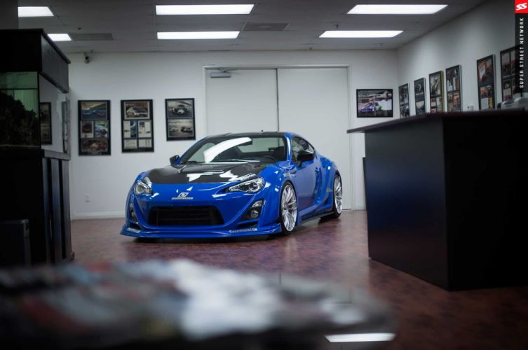 Seibon Supercharged 2013 Subaru BRZ coupe cars modified wallpaper