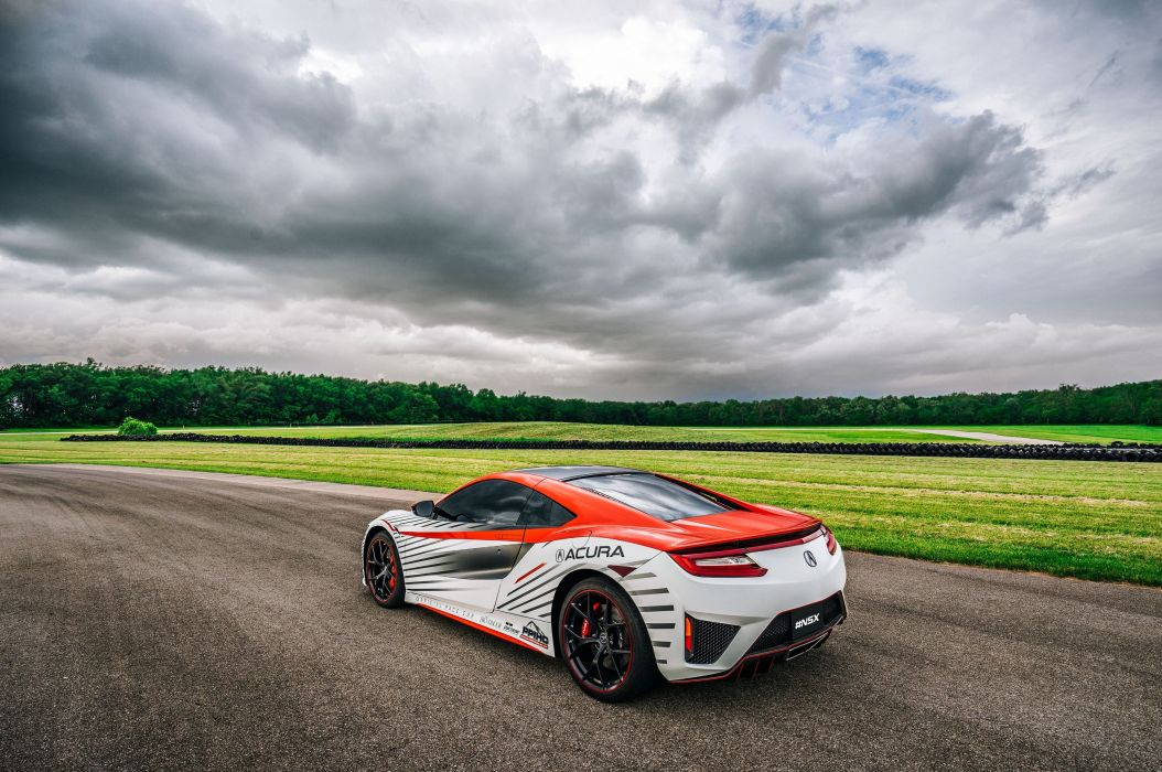 Acura NSX Pace cars Pikes Peak coupe cars 2015 wallpaper