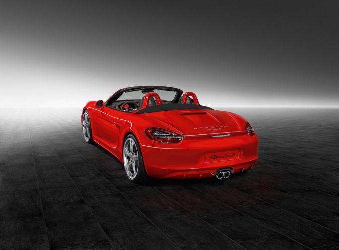 Porsche Exclusive Boxster-S cars convertible 2015 wallpaper