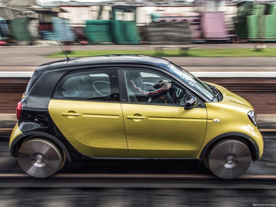 Smart forrail Concept cars 2015 wallpaper