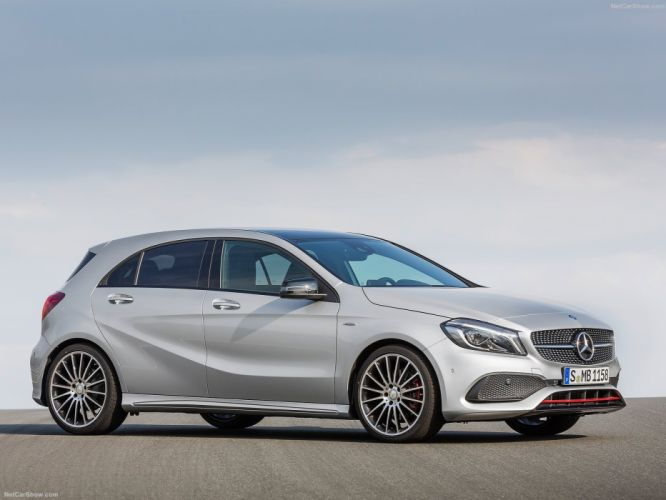 Mercedes-Benz A-Class cars 2016 wallpaper